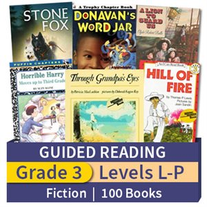 Guided Reading Collection: Grade 3 Fiction (100 books)
