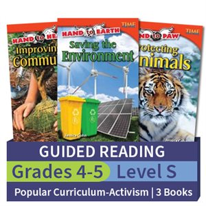 Guided Reading Collection: Popular Curriculum Themes Community Activism Level S (3 books)