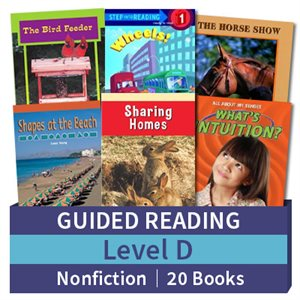 Guided Reading Collection: Level D Nonfiction (20 books)