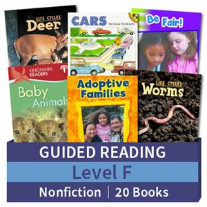 Guided Reading Collection: Level F Nonfiction (20 books)