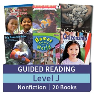 Guided Reading Collection: Level J Nonfiction (20 books)