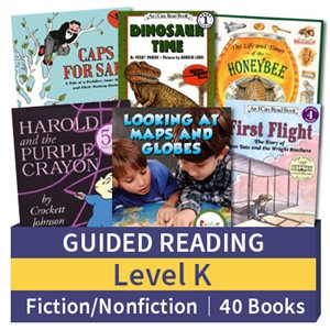 Guided Reading Collection: Level K Fiction and Nonfiction Combo (40 books)