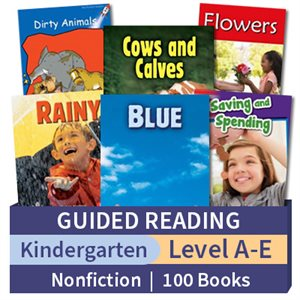 Guided Reading Collection: Kindergarten Nonfiction (100 books)