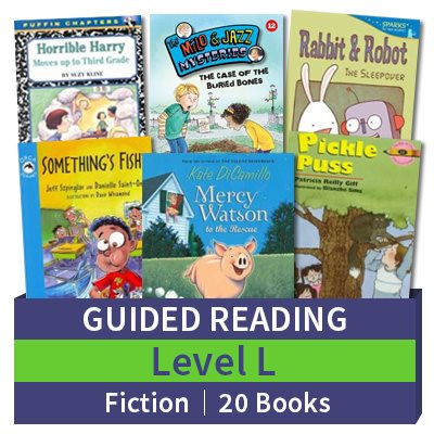 Guided Reading Collection: Level L Fiction (20 books)