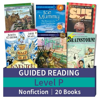 Guided Reading Collection: Level P Nonfiction (20 books)