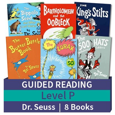 Guided Reading Collection: Level P Dr. Seuss (8 books)