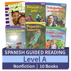 Guided Reading Collection: Spanish Level A Nonfiction (10 Books)