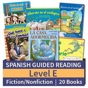 Guided Reading Collection: Spanish Level E Complete (20 Books)