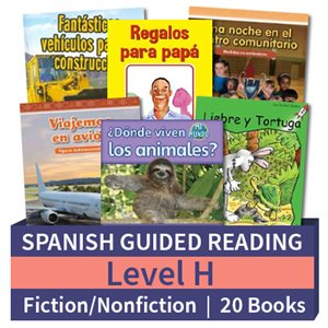 Guided Reading Collection: Spanish Level H Complete (20 Books)