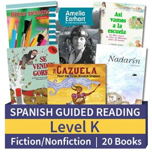 Guided Reading Collection: Spanish Level K Complete (20 Books)