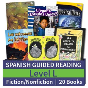 Guided Reading Collection: Spanish Level L Complete (20 Books)