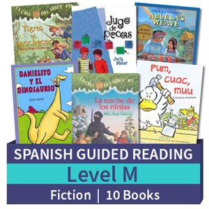 Guided Reading Collection: Spanish Level M Fiction (10 Books)