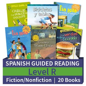 Guided Reading Collection: Spanish Level R Complete (20 Books)