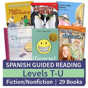 Guided Reading Collection: Spanish Level T-U Complete (29 Books)