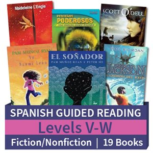 Guided Reading Collection: Spanish Level V-W Complete (19 Books)