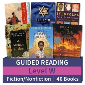 Guided Reading Collection: Level W Fiction and Nonfiction Combo (40 books)