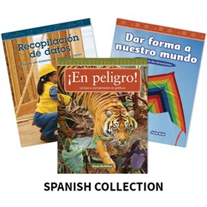Mathematics Readers Grades 2-3 (32 Bk Set) Spanish