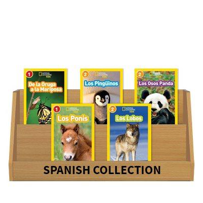 National Geographic Readers: Animals (9 Bk Set) Spanish