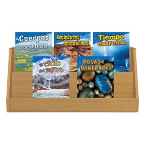 Grade 2-3: Earth & Space Science (10 Books) Spanish