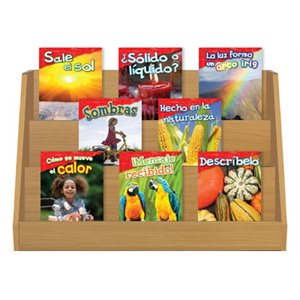 Grade K-1: Physical Science & Science Practices (12 Books) Spanish