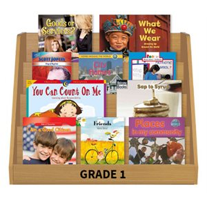 Social Studies Leveled Reading Collection - Grade 1 (60 Bk Set)