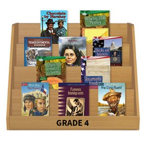 Social Studies Leveled Reading Collection - Grade 4 (60 Bk Set)