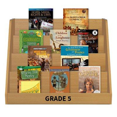 Social Studies Leveled Reading Collection - Grade 5 (60 Bk Set)