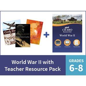 World War II with Teacher Resource Pack - Grades 6-8 (15 Items)