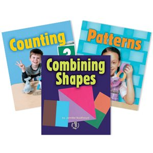 First Step Nonfiction - Early Math (6 Books)