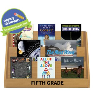 Nancy Akhavan Noteworthy Nonfiction Collection - Grade 5 (15 Books)