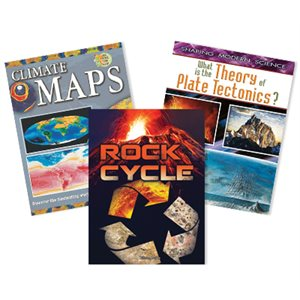 NGSS MS Earth and Space Science- Earth's Systems (4 Books)