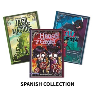 La Novela Grafica (Graphic Spin en Espanol) (5 books) Spanish