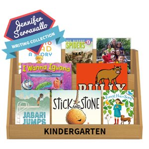 Jennifer Serravallo Go-To Books for Writing - Kindergarten (15 Books)