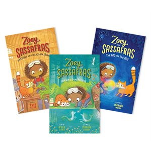 Zoey and Sassafras (6 books)