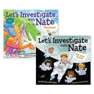 Let's Investigate with Nate (4 books)
