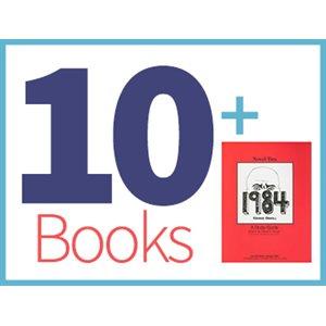1984 Group Set (10 books, 1 Novel-Tie)
