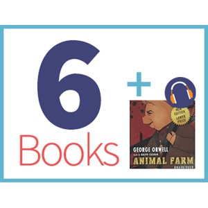 Animal Farm Listening Set (6 books, 1 CD) (BMI)