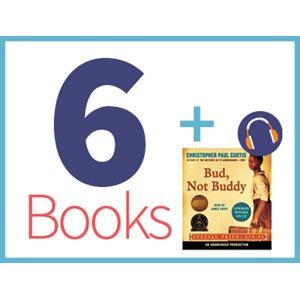 Bud, Not Buddy Listening Set (6 books, 1 CD) (BMI)