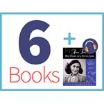 Anne Frank Diary of a Young Girl Listening Set Diary of a Young Girl Set (6 books, 1 CD) (BMI)