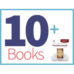 Frankenstein Group Set (10 books, 1 Novel-Tie)