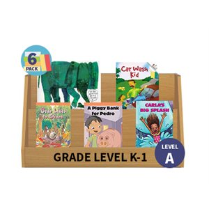 Guided Reading 6-Pack - Level A - Fiction (30 Books)(BMI)