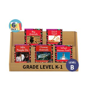 Guided Reading 6-Pack - Level B - Nonfiction (30 Books)(BMI)