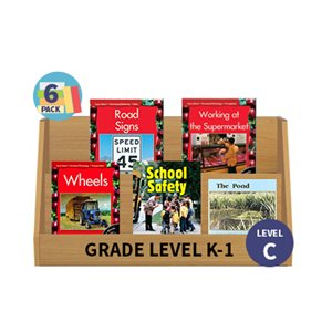 Guided Reading 6-Pack - Level C - Nonfiction (30 Books)(BMI)