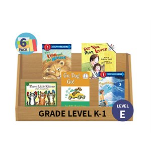 Guided Reading 6-Pack - Level E - Fiction (30 Books)(BMI)