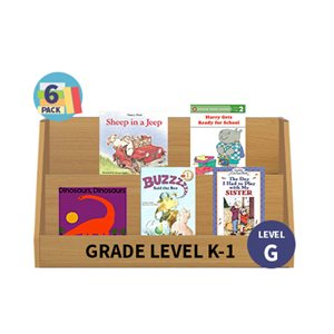 Guided Reading 6-Pack - Level G - Fiction (30 Books)(BMI)