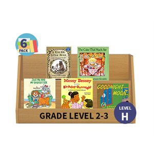 Guided Reading 6-Pack - Level H - Fiction (30 Books)(BMI)