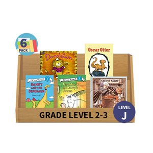 Guided Reading 6-Pack - Level J - Fiction (30 Books)(BMI)