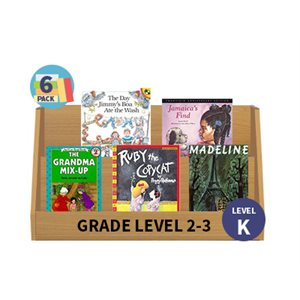 Guided Reading 6-Pack - Level K - Fiction (30 Books)(BMI)
