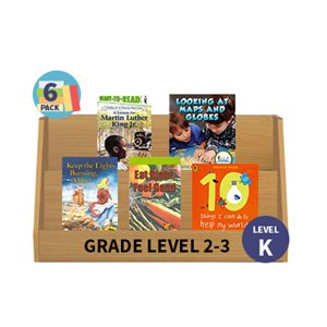 Guided Reading 6-Pack - Level K - Nonfiction (30 Books)(BMI)