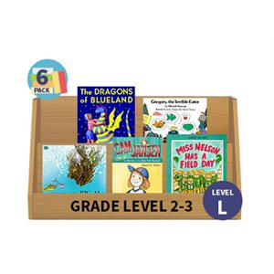 Guided Reading 6-Pack - Level L - Fiction (30 Books)(BMI)